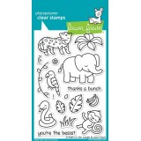 Набор штампов Lawn Fawn CRITTERS IN THE JUNGLE
