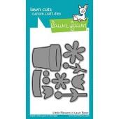 Набор ножей для вырубки Lawn Fawn LITTLE FLOWERS