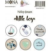Фишки для украшения MoNa design LITTLE BOY