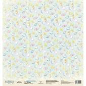 Лист бумаги для скрапбукинга MoNa design SEA LIFE коллекция Sea Party 30х30см