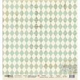 Лист бумаги для скрапбукинга MoNa design ШКОЛЬНАЯ ФОРМА коллекция Школьная пора 30х30см