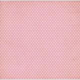 Лист бумаги для скрапбукинга MoNa design РОЗОВЫЙ ГОРОХ коллекция Сладко 30х30см