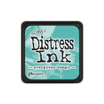 Чернильная подушечка Ranger MINI DISTRESS PAD EVERGREEN BOUGH