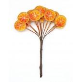 Декоративный букетик Рукоделие Дольки апельсина в сахаре