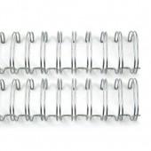 Пружина для биндера Zutter SILVER 1,27см серебро