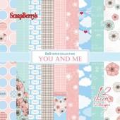 Набор бумаги для скрапбукинга Scrapberry's ПРО ЛЮБОВЬ 15х15см