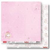 Лист бумаги для скрапбукинга Scrapberry's МИЛАШКА коллекция Зайка Ми Малыши 30х30см