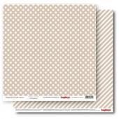 Лист бумаги для скрапбукинга Scrapberry's ЗВЕЗДОЧКИ ЛАТТЕ коллекция Элегантно Просто 30х30см