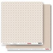Лист бумаги для скрапбукинга Scrapberry's РОМАШКИ ЛАТТЕ коллекция Элегантно Просто 30х30см