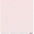 Лист бумаги для скрапбукинга Scrapberry's КЛЕТКА РОЗОВАЯ коллекция Элегантно Просто 30х30см
