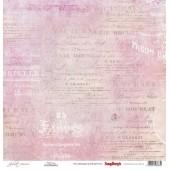 Лист бумаги для скрапбукинга Scrapberry's ВИКТОРИЯ коллекция Джульетта 30х30см