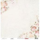 Лист бумаги для скрапбукинга Scrapberry's СКАЗКА коллекция Джульетта 30х30см