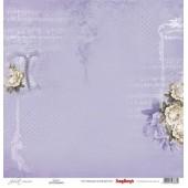 Лист бумаги для скрапбукинга Scrapberry's ГРАЦИЯ коллекция Джульетта 30х30см