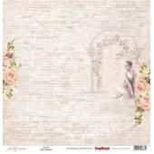Лист бумаги для скрапбукинга Scrapberry's ДЖУЛЬЕТТА коллекция Джульетта 30х30см