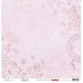 Лист бумаги для скрапбукинга Scrapberry's ПУАНТЫ коллекция Джульетта 30х30см