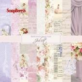 Набор бумаги для скрапбукинга Scrapberry's ДЖУЛЬЕТТА 15х15см