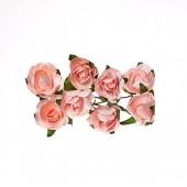 Бумажные цветы Scrapberry's РОЗЫ НЕЖНО-РОЗОВЫЕ