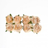 Бумажные цветы Scrapberry's РОЗЫ БЕЖЕВЫЕ
