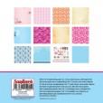Набор бумаги для скрапбукинга Scrapberry's СНЫ О ЯПОНИИ 15x15см