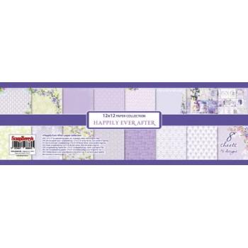 Набор бумаги для скрапбукинга Scrapberry's СЧАСТЛИВЫЙ ДЕНЬ 30х30см