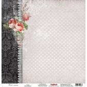Лист бумаги для скрапбукинга Scrapberry's ТАНГО коллекция Элегия 30х30см
