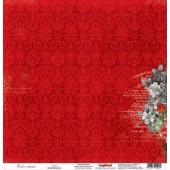 Лист бумаги для скрапбукинга Scrapberry's ВЕНЕРА коллекция Элегия 30х30см