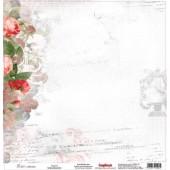 Лист бумаги для скрапбукинга Scrapberry's ЛЕГЕНДА коллекция Элегия 30х30см