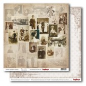 Лист бумаги для скрапбукинга Scrapberry's ФОТОАРХИВ коллекция Фотоархив 30х30см