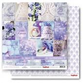 Лист бумаги для скрапбукинга Scrapberry's КАРТОЧКИ 1 коллекция Счастливый день 30х30см