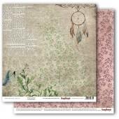 Лист бумаги для скрапбукинга Scrapberry's ЛОВЕЦ СНОВ коллекция Бохо 30х30см