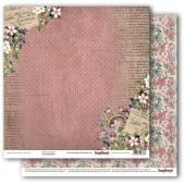 Лист бумаги для скрапбукинга Scrapberry's ЦВЕТУЩИЙ САД коллекция Бохо 30х30см