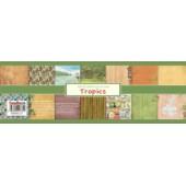 Набор бумаги для скрапбукинга Scrapberry's ТРОПИКАНА 30х30см