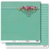 Лист бумаги для скрапбукинга Scrapberry's ПОДВЕСКИ коллекция Драгоценности 30х30см