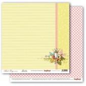 Лист бумаги для скрапбукинга Scrapberry's ПРАВИЛЬНЫЙ ВЕКТОР коллекция Школьная Пора 30х30см