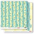 Набор бумаги для скрапбукинга Scrapberry's СКАЗКИ МОРЯ 30х30см