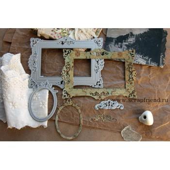 Набор ножей для вырубки ScrapFriend ПАТРИСИЯ