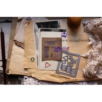 Набор ножей для вырубки ScrapFriend МАРКА И ШТЕМПЕЛИ
