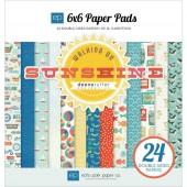 Набор бумаги для скрапбукинга Echo Park WALKING ON SUNSHINE 15х15см