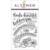 Набор штампов Altenew FLORAL FRAME