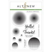 Набор штампов Altenew HALFTONE CIRCLES