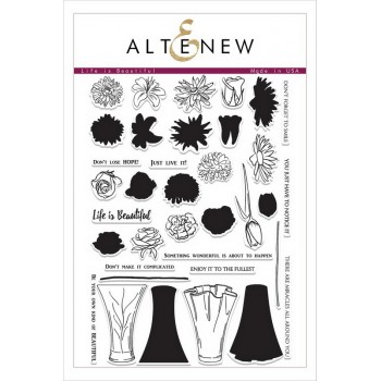 Набор штампов Altenew LIFE IS BEAUTIFUL