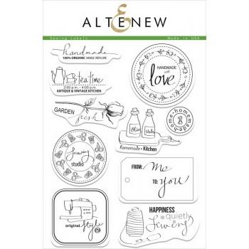 Набор штампов Altenew SEWING LABELS