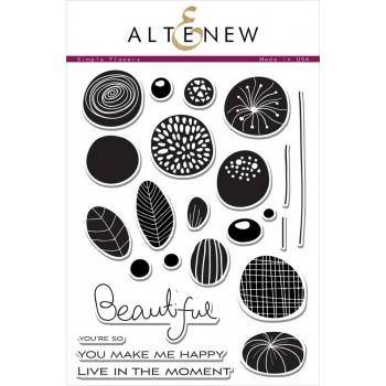 Набор штампов Altenew SIMPLE FLOWERS