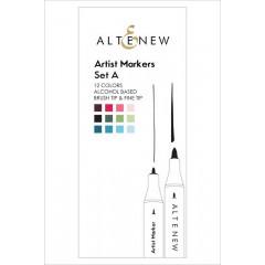 Набор маркеров Altenew ARTIST MARKERS set A