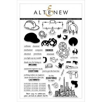 Набор штампов Altenew ENGINEERS RULE