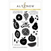 Набор штампов Altenew SIMPLE FRUITS