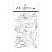 Набор штампов Altenew SKETCHY ROSE
