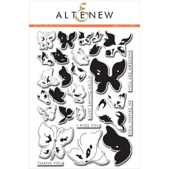 Набор штампов Altenew PAINTED BUTTERFLIES