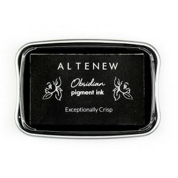 Чернильная подушечка Altenew OBSIDIAN PIGMENT INK черный цвет
