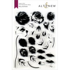 Набор штампов Altenew ROSY OUTLOOK